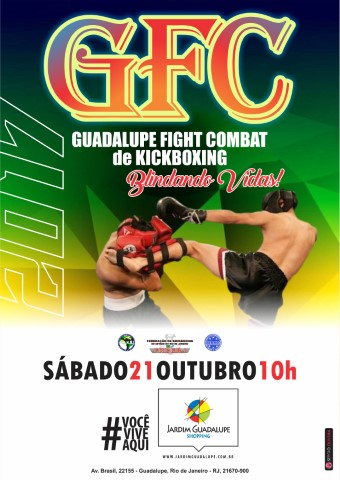 "Gualupe Fight Combat de Kickboxing ""Blindando Vidas!""."