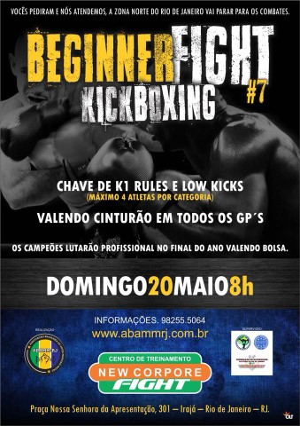 7º Beginner Fight de Kickboxing