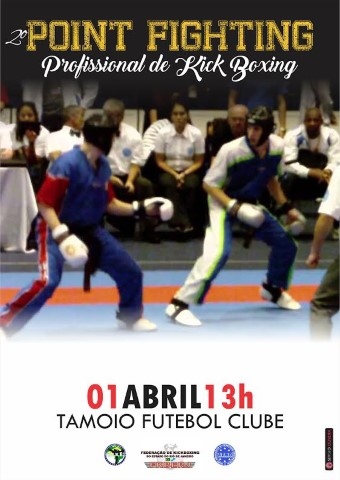 2º Point Fighting Profissional de Kickboxing 2017!