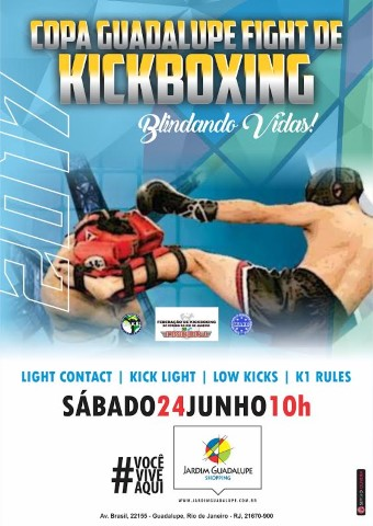 Copa Guadalupe Fight de Kickboxing. Blindando Vidas!